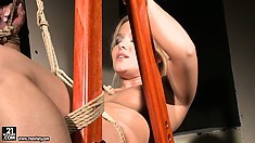 Beautiful slave girl is going through some incredible stuff right now