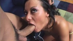 Mature sex goddess bends over to take in a bulging meat stick