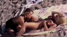 Two Sultry Babes Enjoy The Taste Of Each Other's Twats In The Outdoors
