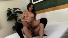 Lustful Tranny Amanda Loves To Get Her Fiery Ass Pumped Full Of Cock