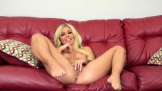 Irresistible Blonde Madelyn Reveals Her Love For Sucking And Fucking
