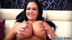 Ava is a MILF with massive tits that loves to suck monster dicks