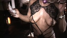 Black exotic dancers let their inner lesbians run wild in front of cam