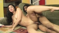 Curvy Hottie With Big Tits Slammed Hard