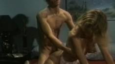 Seductive blonde wife Brooke London gets nailed hard by Bobby London