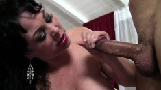 Big breasted mature Alexis Couture has a hard dick pleasing her snatch