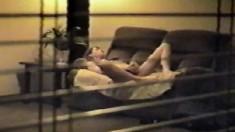 My mummy masturbating Hidden cam in her bedroom