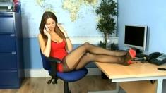 Webgirl - Stockings & Legs - Non Nude