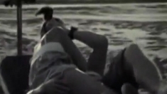 caught fucking on the beach