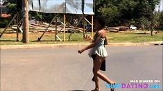 Puta Andando Pelada Na Rua
