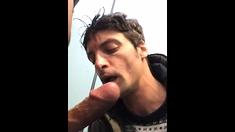 Stranger Sucking Me in Public Toilets