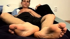 Boy licking gay s feet Honza And His Size 11 Feet