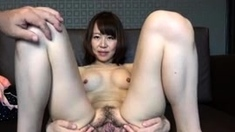 Fetish girl shows her gaping hole