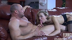 Felicia C Is Kissed, Caressed And Fucked By Tremendous Fuck Claud
