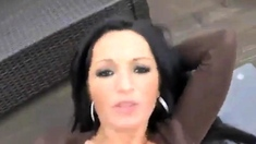 Quicky Mit Hot Babe Auf Dem Balkon