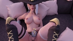 Sweet Girls from Overwatch Gets a Nice Pounding from Behind