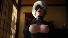 Hot 2B Sucking and Rides on a Big Long Cock